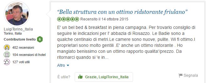 """""""Bella struttura con un ottimo ristorante friulano"""""""