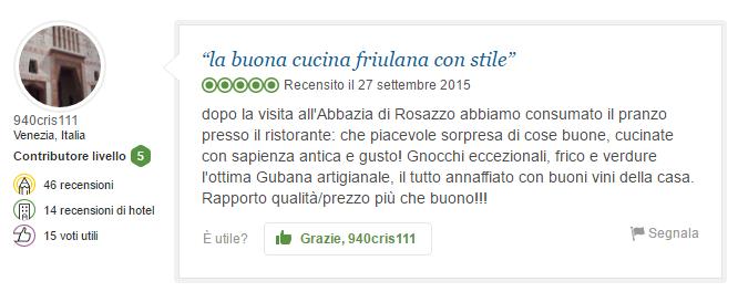 """""""la buona cucina friulana con stile"""""""